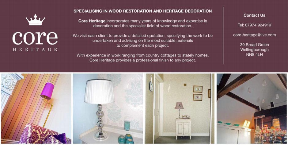 Core Heritage - Specialising in Wood Restoration and Heritage Decoration